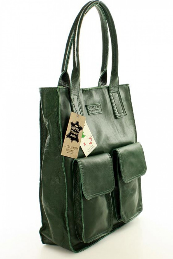 Natural leather bag model 109205 Mazzini