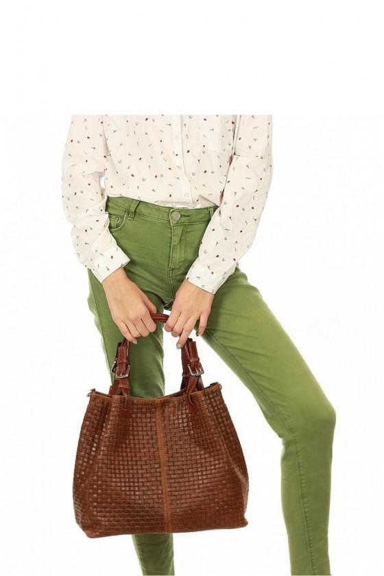 Natural leather bag model 109970 Mazzini