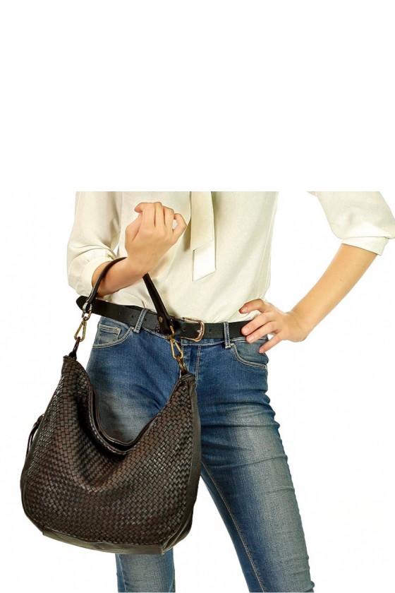 Natural leather bag model 134229 Mazzini