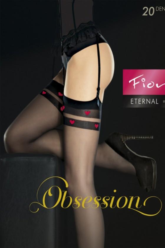 Stockings model 135592 Fiore