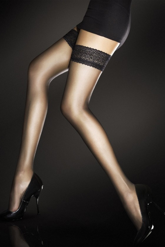 Stockings model 135593 Fiore