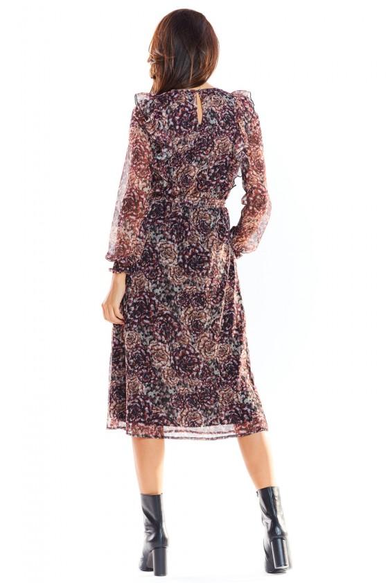Cocktail dress model 139502 awama