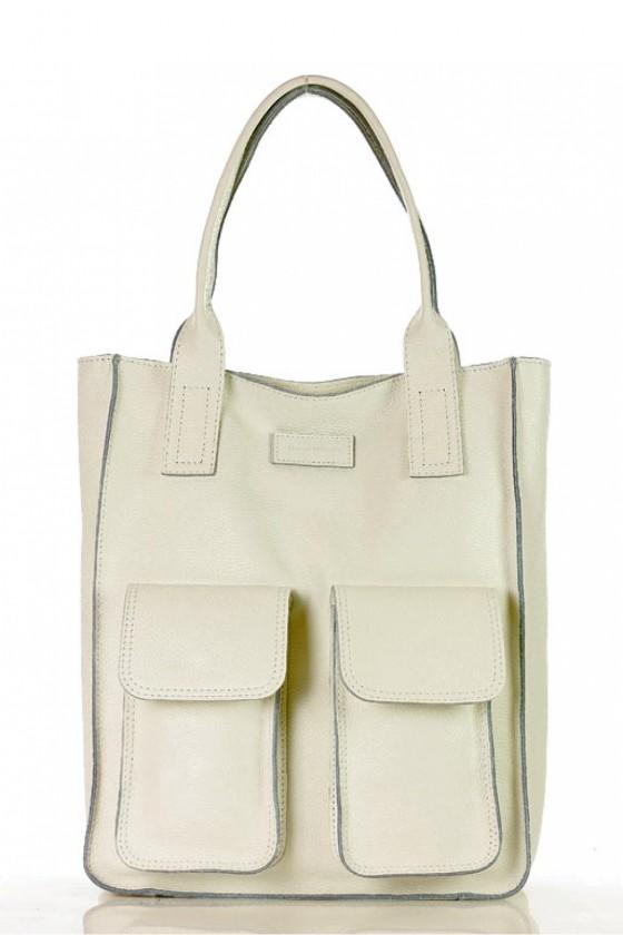 Natural leather bag model...