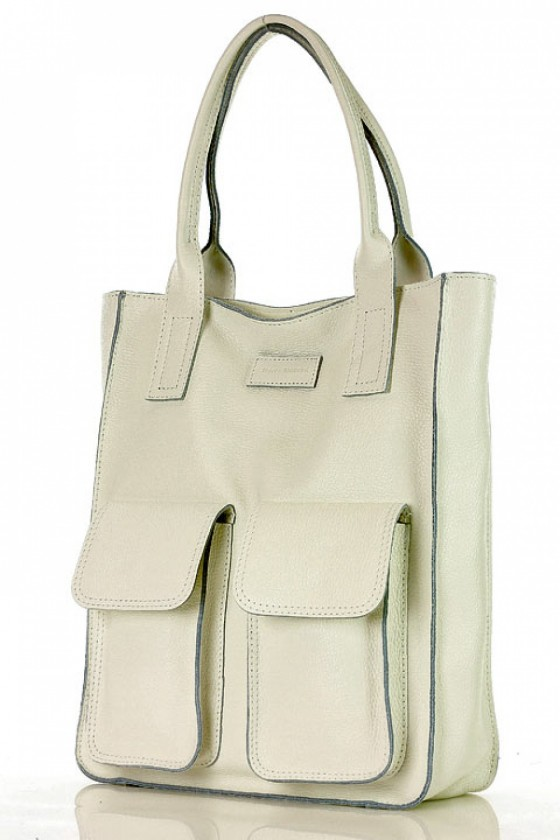 Natural leather bag model 142010 Mazzini