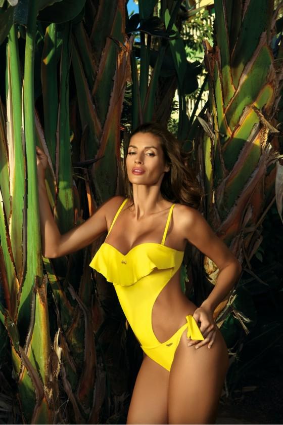 Swimsuit one piece model...