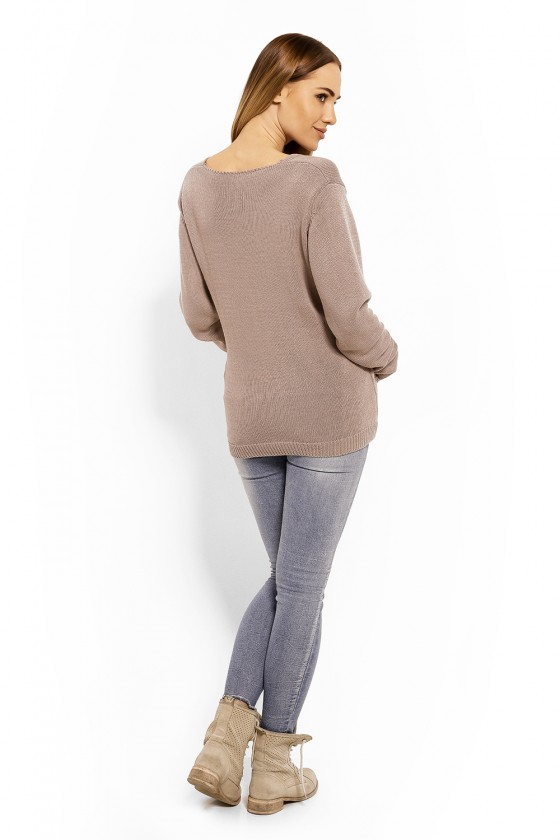 Pregnancy sweater model 113195 PeeKaBoo