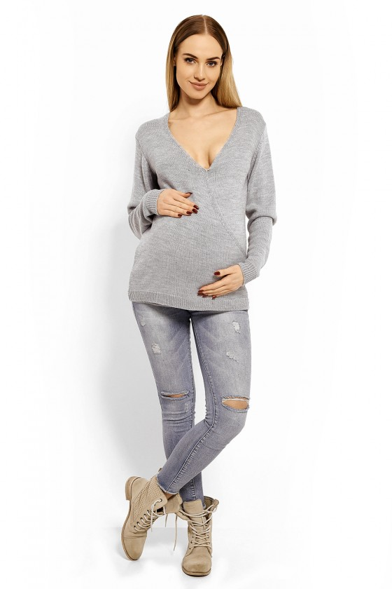 Pregnancy sweater model 113196 PeeKaBoo