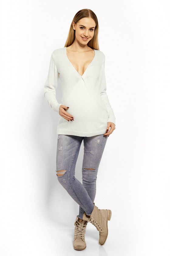 Pregnancy sweater model 113197 PeeKaBoo