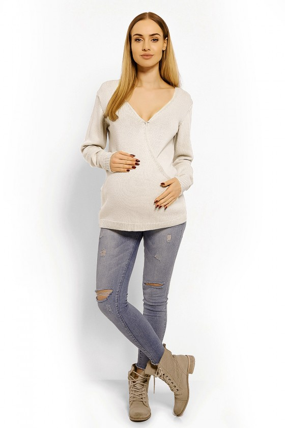 Pregnancy sweater model 113198 PeeKaBoo