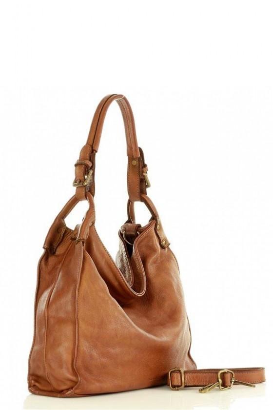 Natural leather bag model 145950 Mazzini