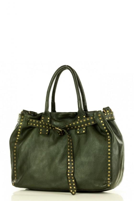 Natural leather bag model 146384 Mazzini