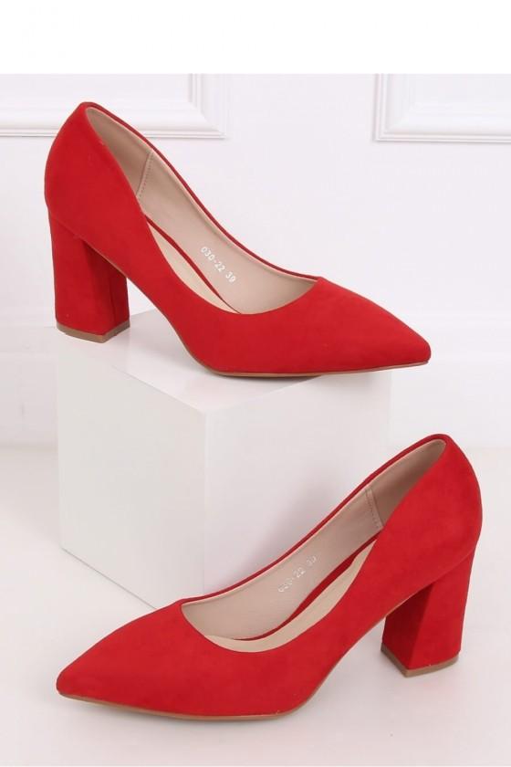 Block heel pumps model...