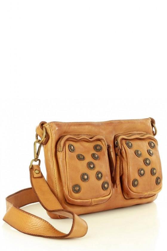 Natural leather bag model 146900 Mazzini