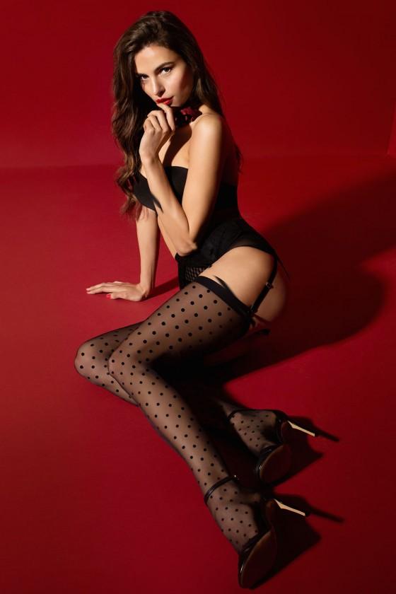 Stockings model 149545 Fiore