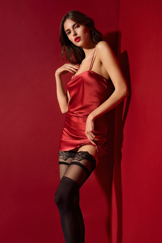 Stockings model 149546 Fiore
