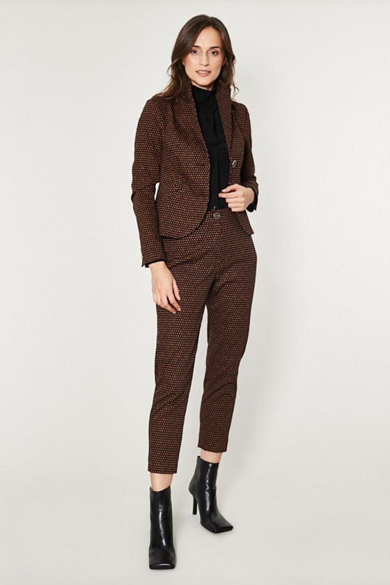 Women trousers model 150168 Click Fashion