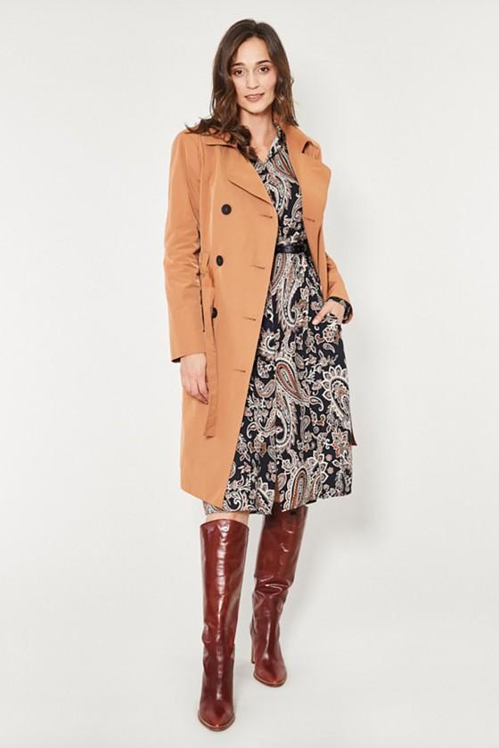 Coat model 150173 Click Fashion