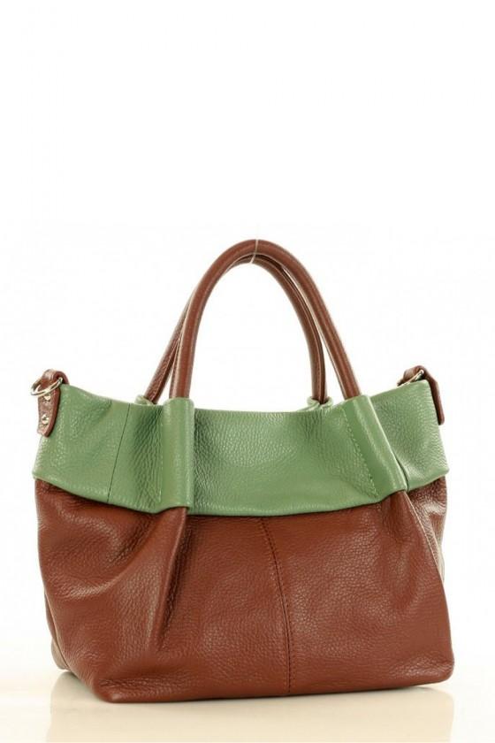 Natural leather bag model 151461 Mazzini