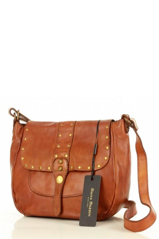 Natural leather bag model 152329 Mazzini