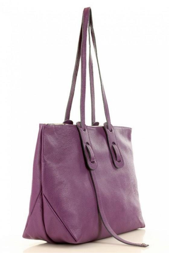 Natural leather bag model 152332 Mazzini