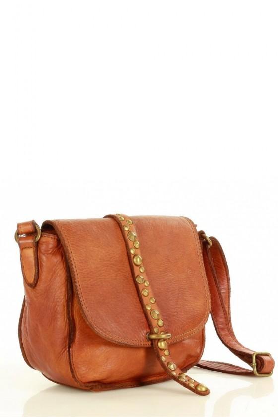 Natural leather bag model 152799 Mazzini