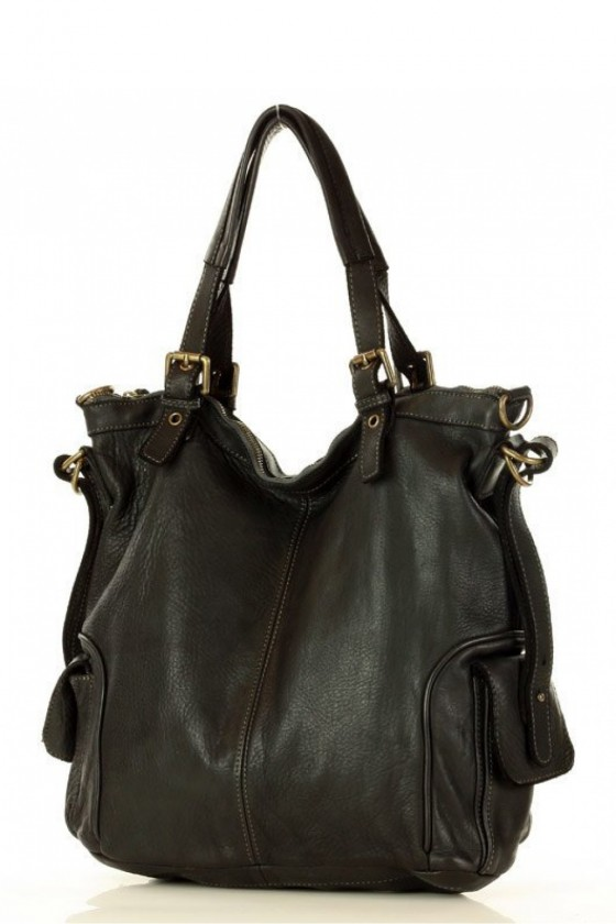 Natural leather bag model 152804 Mazzini