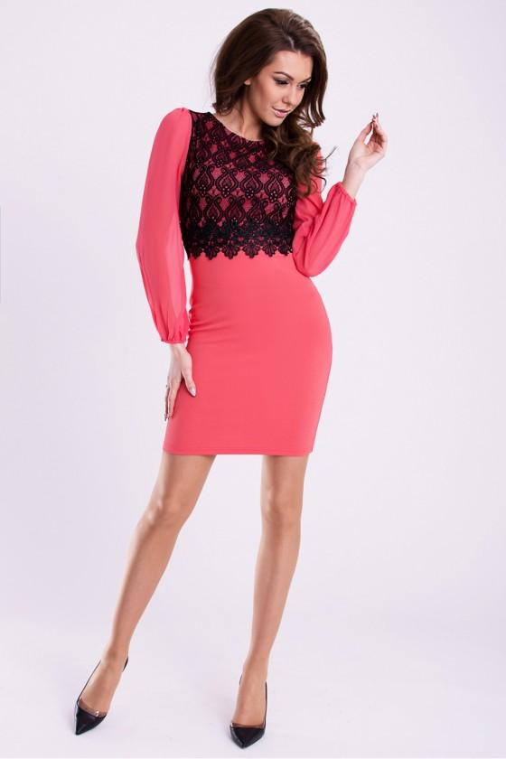 Evening dress model 59313 YourNewStyle
