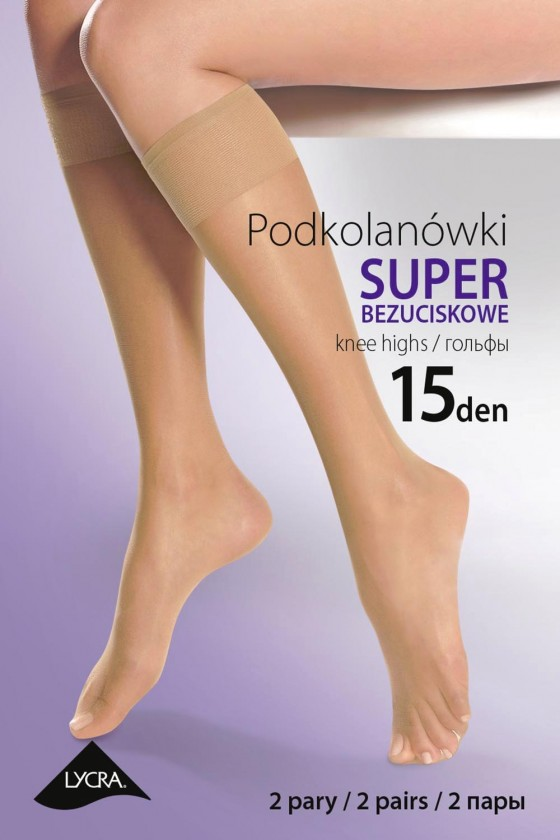 Knee highs socks model...
