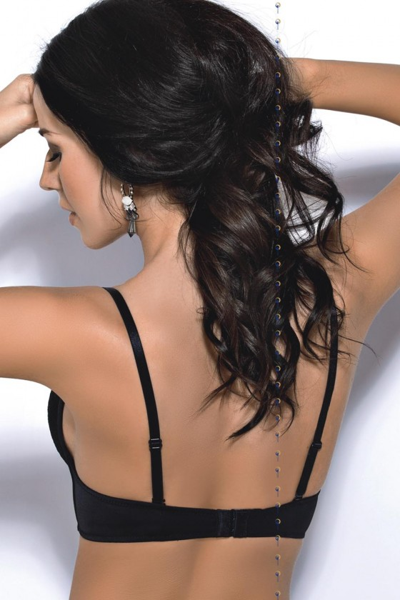 Deep neckline bra model 117791 Gorsenia Lingerie