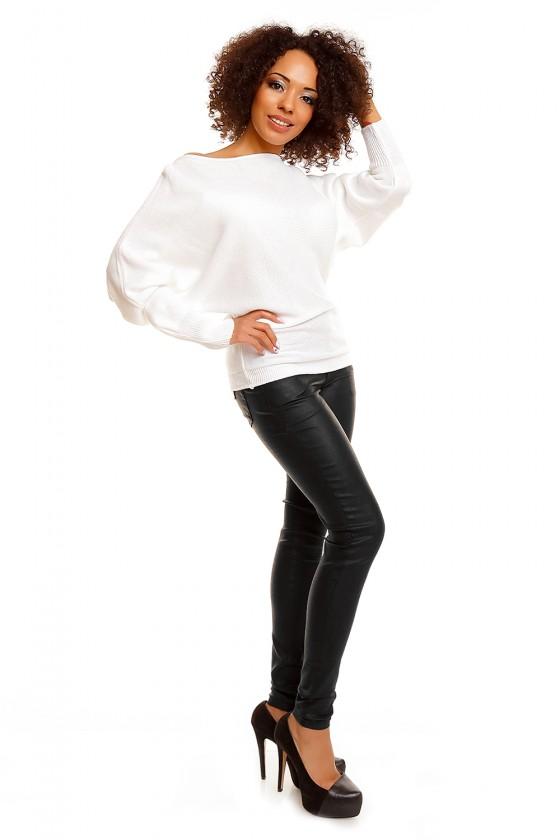 Bat style blouse model 84277 PeeKaBoo