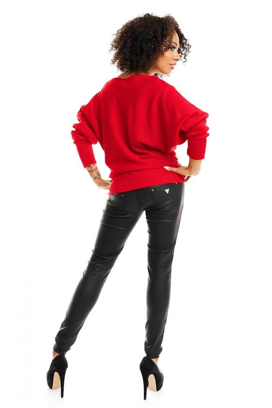 Bat style blouse model 84279 PeeKaBoo