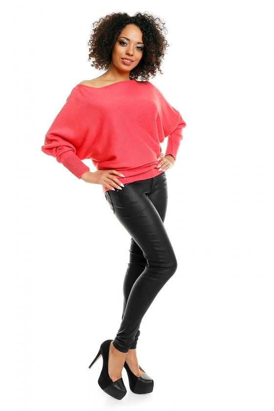 Bat style blouse model 84283 PeeKaBoo