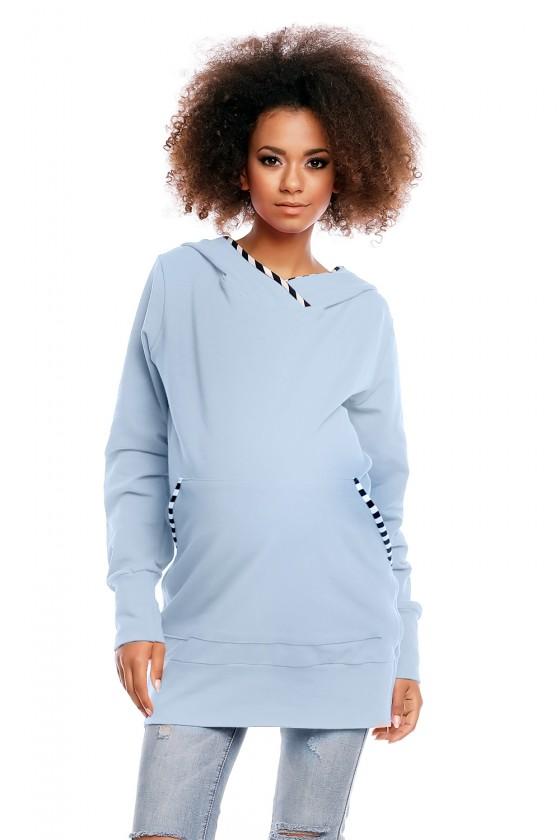 Maternity sweatshirt model...