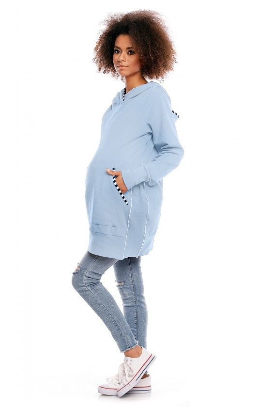 Maternity sweatshirt model 84443 PeeKaBoo
