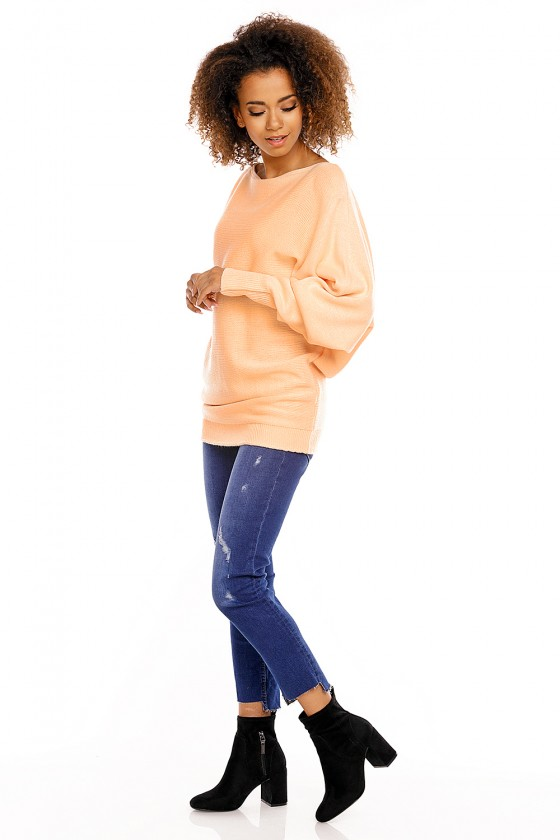 Bat style blouse model 94498 PeeKaBoo