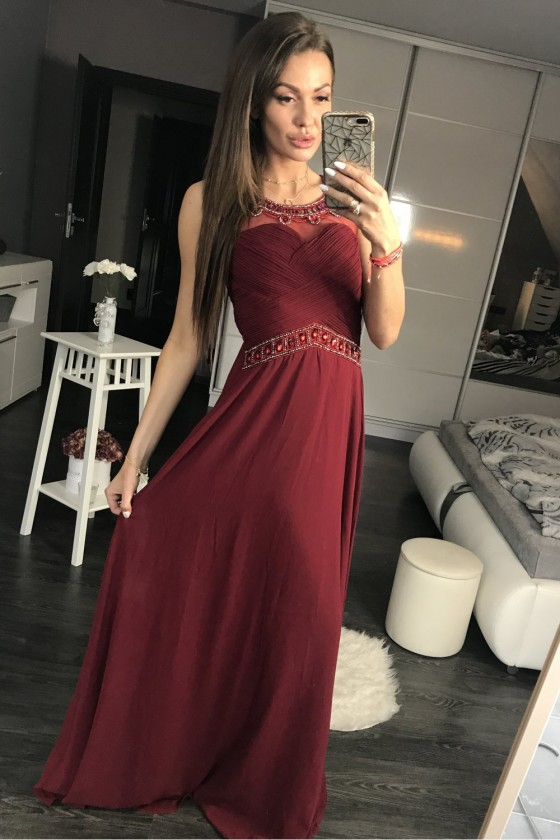Long dress model 105274 YourNewStyle