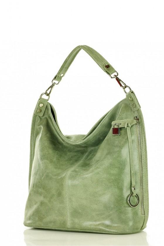 Natural leather bag model 142018 Mazzini