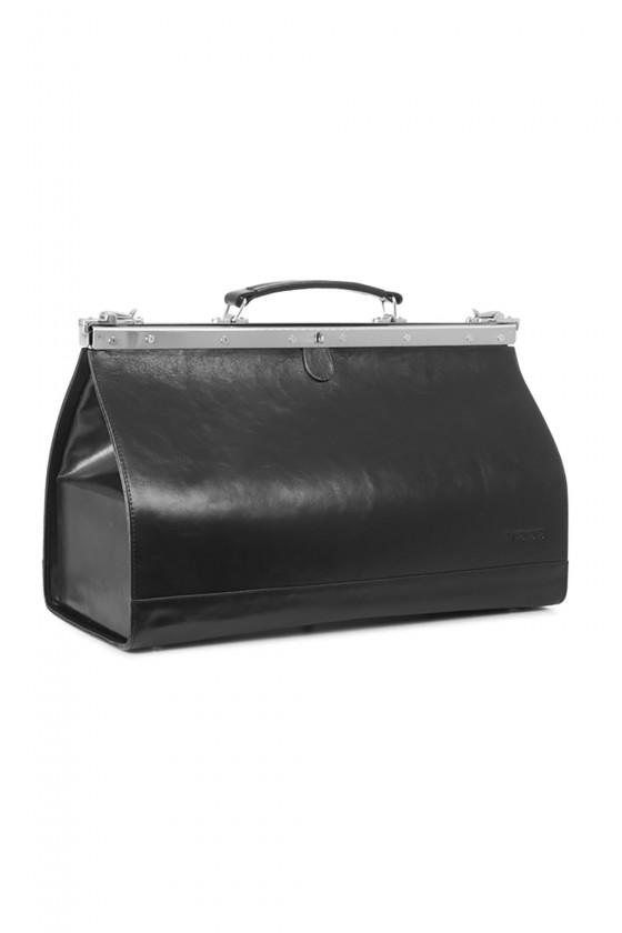 Natural leather bag model 152104 Verosoft