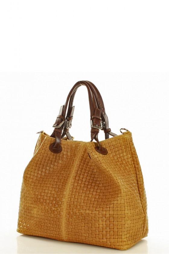 Natural leather bag model 127685 Mazzini