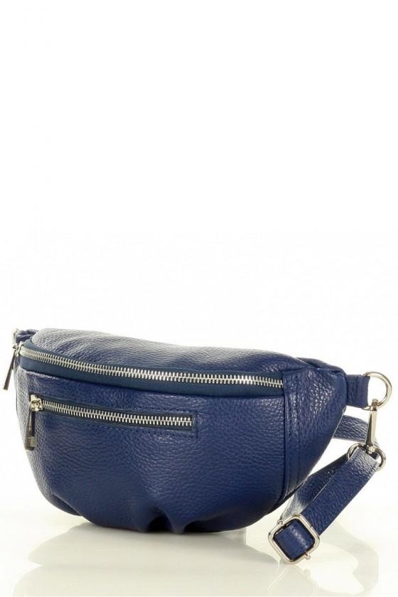 Natural leather bag model 156246 Mazzini