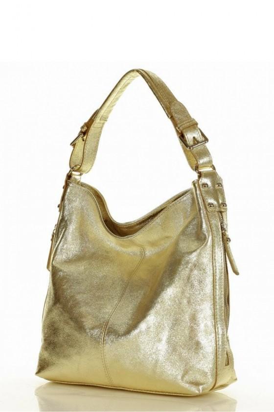 Natural leather bag model 156423 Mazzini