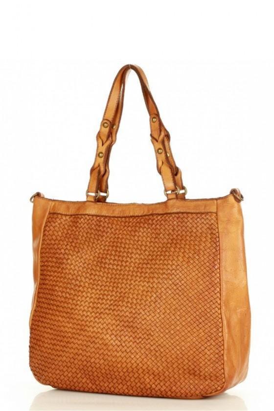 Natural leather bag model 156501 Mazzini
