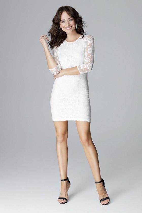 Short dress model 123807...