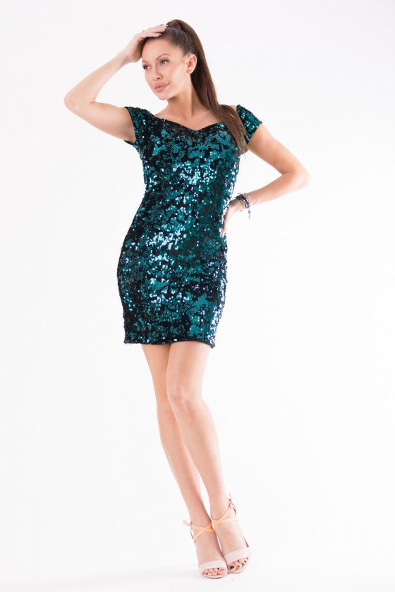 Short dress model 125234 YourNewStyle